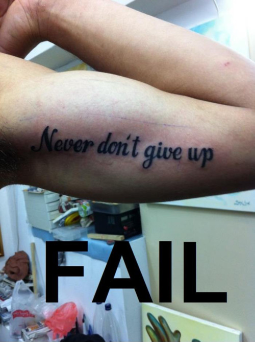 fail, tattoo