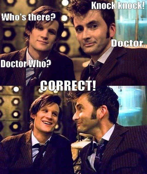 doctor who, joke