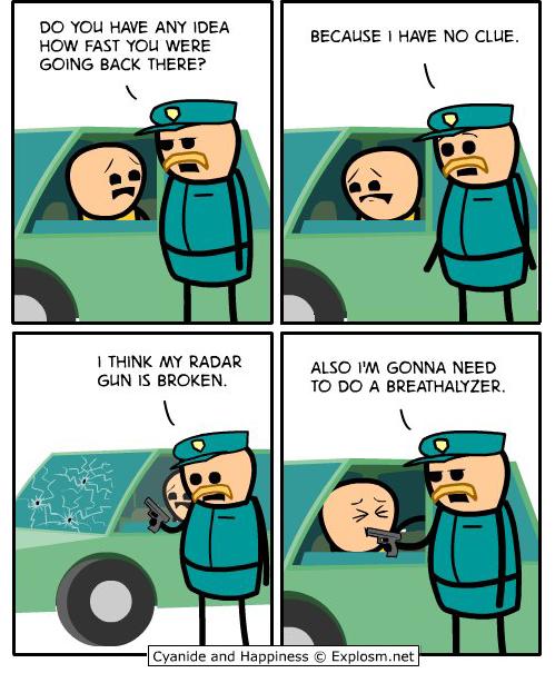 comic, cop, police
