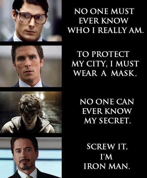 marvel, superhero, identity, superman, ironman, batman, spiderman