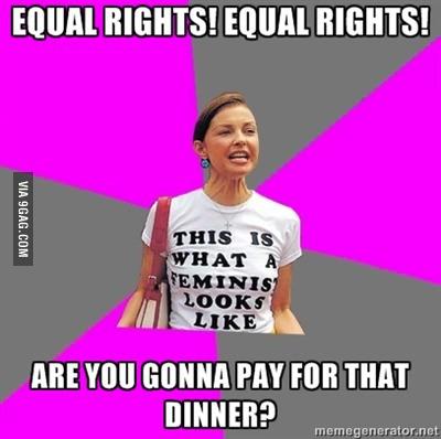 Feminism, Dinner