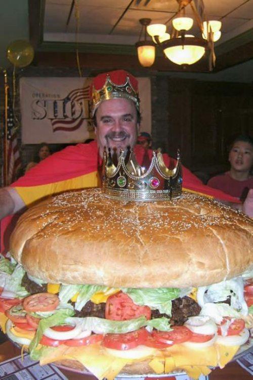 burger, king, huge