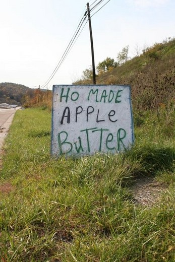 ho made apple butter, spelling, fail, sign