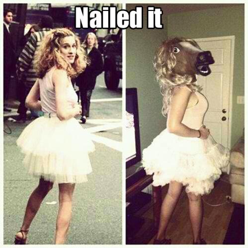 costume, horse, sarah jessica parker