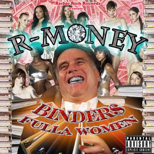 binders, romney, rap