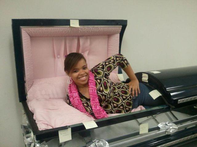 coffin, weird, wtf, pose