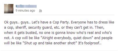 cop, facebook, win