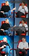 Steve Jobs, Death, Bill Gates