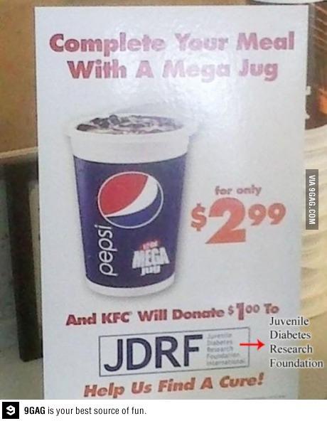 Capitalism, Diabetes, Pepsi, KFC