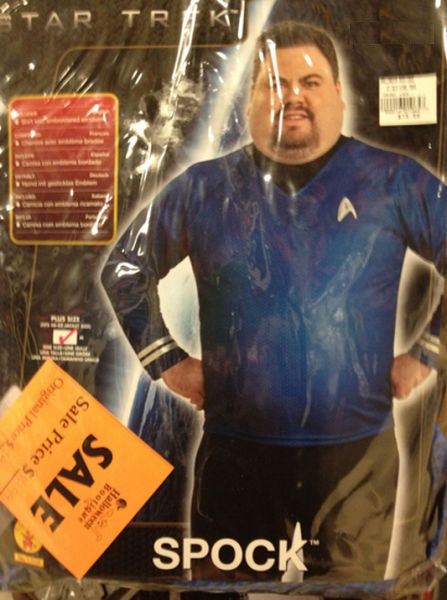 spock, star trek, fat, fail, costume, halloween