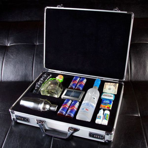 briefcase, alcohol, cash, weekend, fun, adult