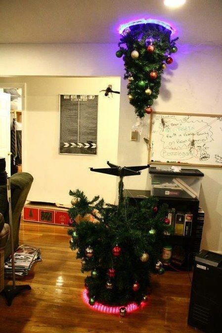 warp, christmas, tree, portal