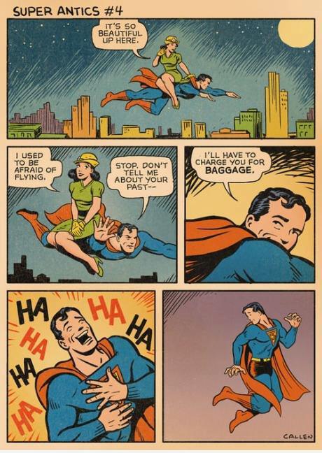 superman, comic, oops, fail, win