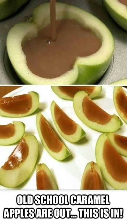 old school caramel apples are out, this is in!, food porn, recipe