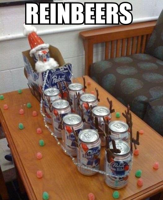 reinbeers, meme, pun, christmas