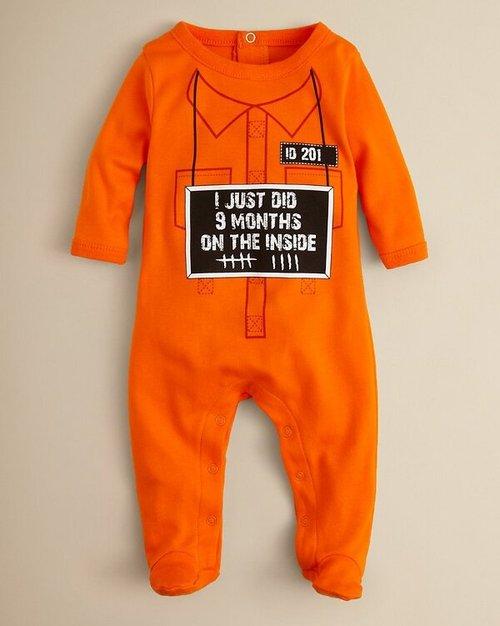baby, joke, one piece, jumper, prison, cute