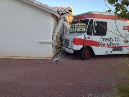 fail, crash, truck