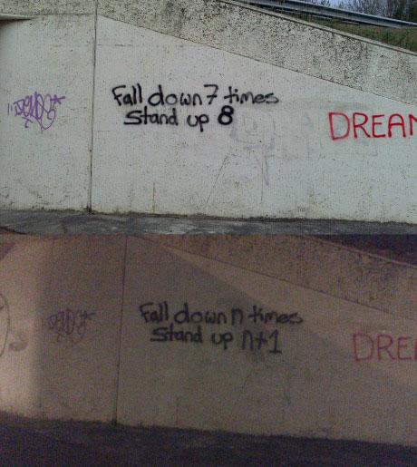 Math, Graffiti, Life