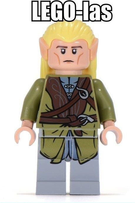 lego, lord of the rings, pun, legolas