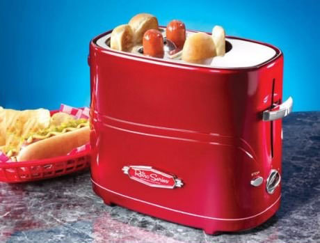 toaster, hot dog, win, product