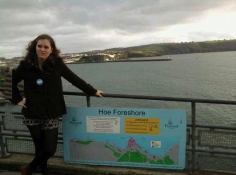 hoe forshore, funny sign