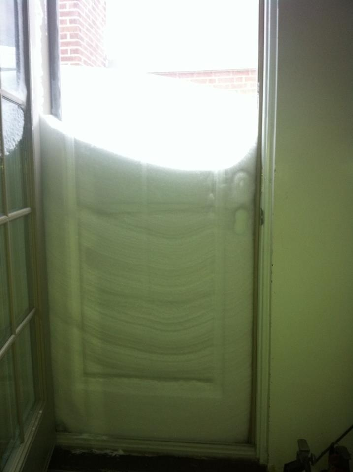 Snow, storm, door, wow