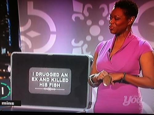 I drugged an ex and killed his fish, game show confessions