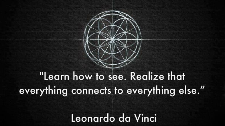 leonardo da vinci, see, connection