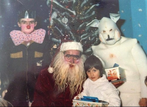 santa, christmas, photo, fail, scary