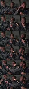 hot shots, black, camouflage, long