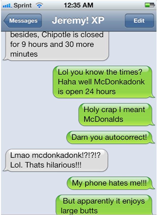 Dyac, McDonald's, iphone