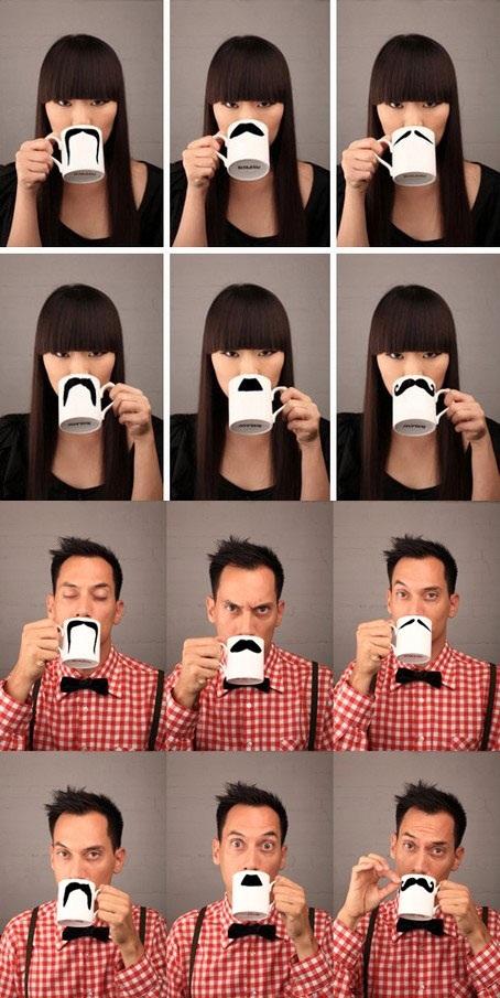 moustache, mug, coffee, tea, product, win