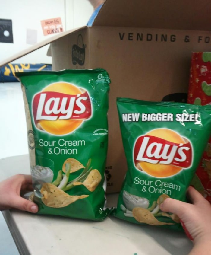 product, fail, chips, lays, sour cream and onion