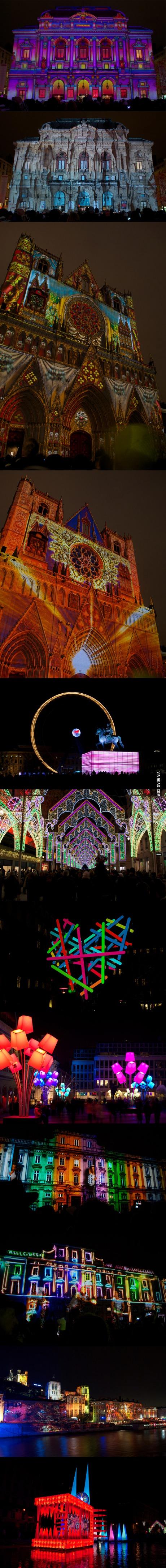 lights, festival, long