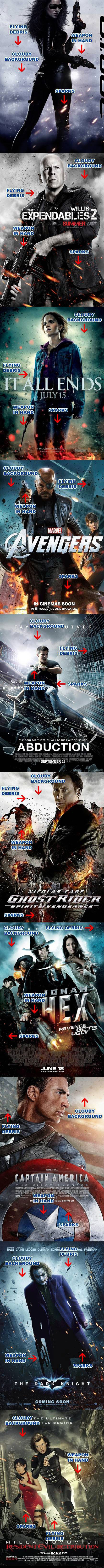 trend, movie poster, cloud, debris, sparks, action, adventure, fantasy