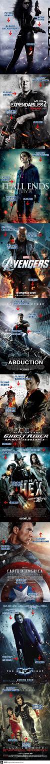 trend, movie poster, cloud, debris, sparks, action, adventure, fantasy