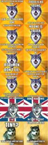 courage wolf series, meme
