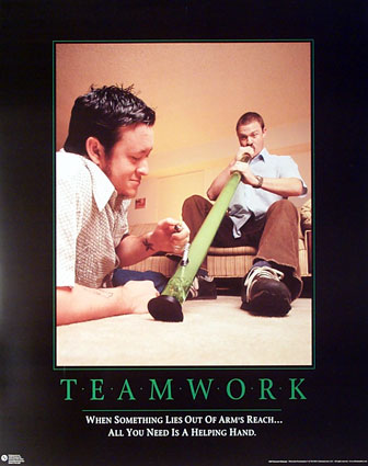 motivation, team work, bong, long, weed, pot