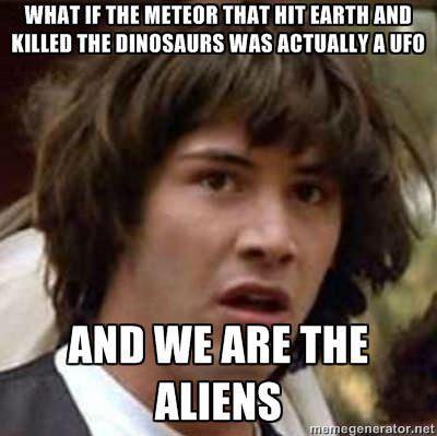 what if keanu, aliens, ufo, meteor