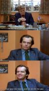 job interview, jack nicholson, money