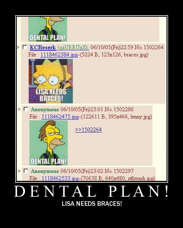 motivation, simpsons, dental plan, lisa needs braces