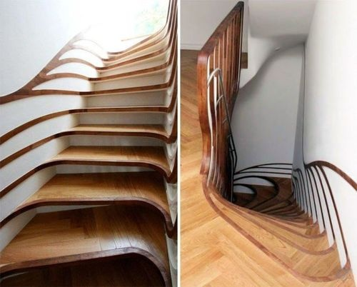 stairs, wtf, cool, psychedelic, art, house