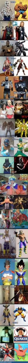 close enough, costume fail, super hero, movie character, long, compilation