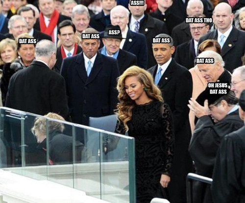 dat ass, obama's inauguration