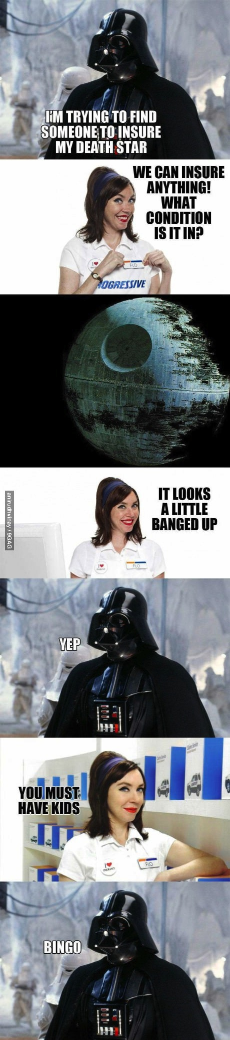 darth vader, star wars, insurance