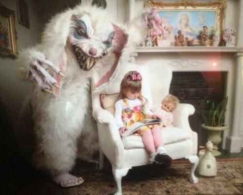 bunny, scary, wtf