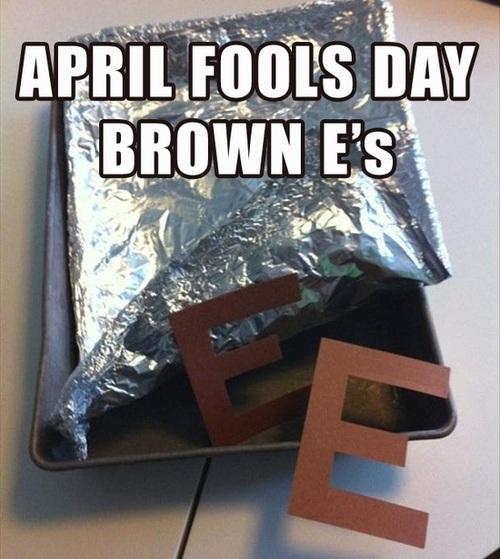 april fools, brownies, literal, troll
