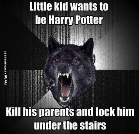 insanity wolf, harry potter