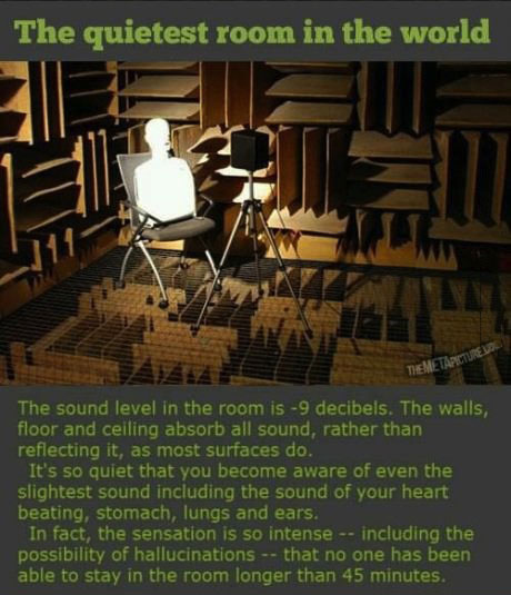 silence, sound, decibel