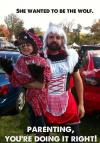 little red riding hood, wolf, parenting